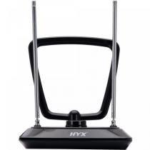 Antena Interna UHF/VHF/FM HDAI-101 Preto - HYX - HYX