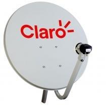 Antena Mini TV Parabolica Vivensis 60cm para Claro TV -