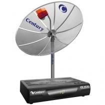 Antena Parabólica Analógica Century - Multiponto 150 MT