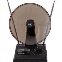 Antena vhf/uhf/fm interna uvfi101 preta hyx -
