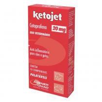 Anti-Infamatório Agener União Ketojet Cetoprofeno 20mg 10 comprimidos -