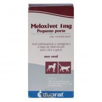 Anti-Inflamatório Duprat Meloxivet 120 Comprimidos - 1 mg -