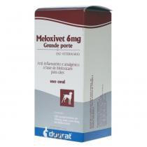 Anti-Inflamatório Duprat Meloxivet 120 Comprimidos - 6 mg -