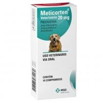 Anti-Inflamatório MSD Meticorten Vet - 10 Comprimidos - MSD Saúde Animal