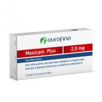 Anti-inflamatório Ouro Fino Maxicam Plus 2mg - 8 Comprimidos - Ourofino