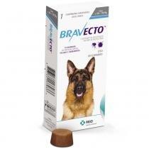 Anti Pulgas e Carrapatos Bravecto para Cães de 20 a 40 kg - 1000 mg - 1 Comprimido - MSD Saúde Animal