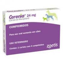 Antiemético Cerênia 4 comprimidos 24 mg - Zoetis - Vetnil