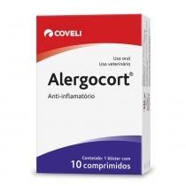 Antiinflamatório Coveli Alergocort 10 Comprimidos -