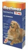 Antiparasitários Agener União Mectimax 12 mg - 4 comprimidos -
