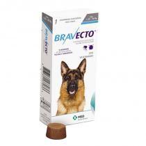 Antipulgas e Anticarrapatos Bravecto para Cães de 20 a 40 kg - 1000 mg -