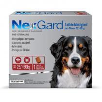 Antipulgas e Anticarrapatos NexGard para Cães de 25,1 a 50 Kg - Merial