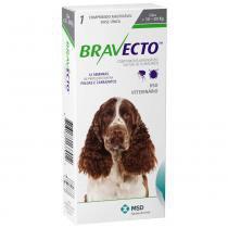 Antipulgas e carrapatos bravecto para caes de 10kg a 20kg (500mg) - msd saúde animal - Msd saúde animal