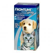 Antipulgas e Carrapatos Frontline Merial Spray Cães Gatos 100 ml - Merial