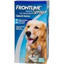 Antipulgas e Carrapatos Frontline Merial Spray Cães Gatos 250 ml - Merial