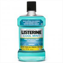 Antisséptico Bucal Listerine Cool Mint 1,5 Litros -