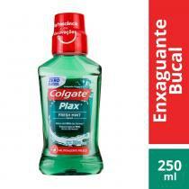 Antisséptico bucal plax fresh mint 250ml - Colgate