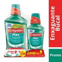 Antisséptico Bucal Plax Fresh Mint 500ml + 250ml - Colgate