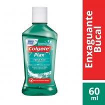 Antisséptico bucal plax fresh mint 60ml - Colgate