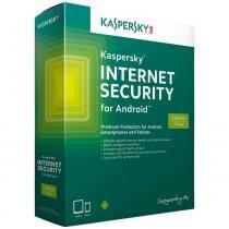 Antivírus Kaspersky Internet Security 2017 para Android 1 Dispositivo 1 Licença Grátis KL1091KOBFS - Kaspersky