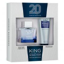 Antonio Banderas King of Seduction Kit - Eau de Toilette + Pós-Barba -