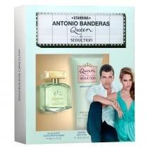 Antonio Banderas Queen of Seduction Kit - Perfume Feminino + Loção Corporal -