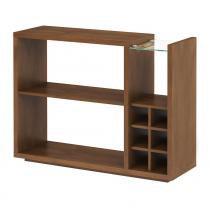 Aparador Bar Íris Castanho - Wood Prime RC 990420 - Wood Prime - RC