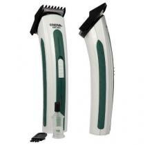 Aparador Barbeador Elétrico Nova Bivolt Cor Verde - MF Imports