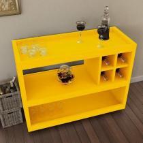 Aparador com Adega 4050 JB Bechara Amarelo -