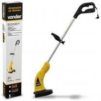 Aparador de Grama Elétrico Vonder AG 1000 127V 1000W Amarelo Cortador Com Fio de Nylon -