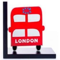 Aparador De Livros Ônibus De Londres - Versare Anos Dourados