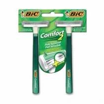 Aparelho de Barbear Bic Comfort 2 Sensível Com 2 Unidades - Bic -