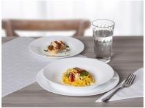Aparelho de Jantar 16 Peças Duralex Vidro  - Branco Opaline Menu