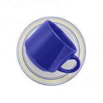 Aparelho de jantar e chá com 20 peças donna elis - Colorido - Oxford