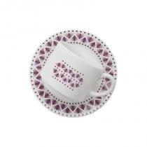 Aparelho de jantar e chá com 20 peças donna maia - Colorido - Oxford