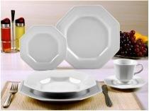 Aparelho de Jantar em Porcelana 20 Peças  - Schmidt Prisma