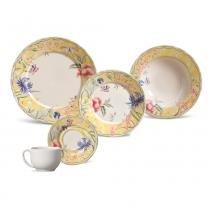 Aparelho de jantar mônaco florença porto brasil cerâmica 30 peças -