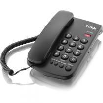 Aparelho Telefonico Com Fio Tcf-2000 C/Chave Bloqueio Pto Elgin - Elgin