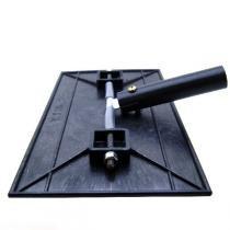 Aplicador manual de verniz / laca 28x16 cm com suporte para cabo - Giraldi