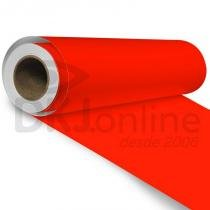 Aplinil - Vinil adesivo monomérico vermelho tomate brilho 50 cm de largura - Aplike -