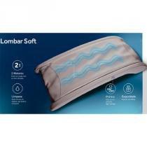 Apoio para Costas e Lombar Massageador Ana Hickmann Relaxmedic Soft Multifunção -