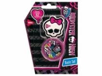 Apontador+Borracha Basic Set Monster High 663555 Summit S/L - 1