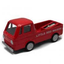 Apontador Retrô Miniatura Perua Litte Red Wagon - Versare anos dourados