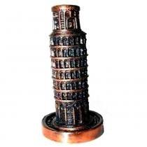Apontador Retrô Miniatura Torre De Pisa Envelhecido - Versare anos dourados