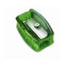Apontador Simples Glitz Faber Castell - Verde - Faber-castell