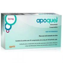Apoquel Dermatológico para Cães - Zoetis - 3,6 Mg - zoetis