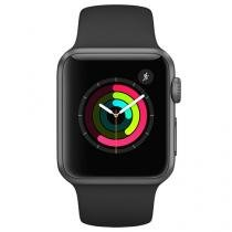 Apple Watch Series 1 38mm Alumínio 8GB Esportiva - Preta