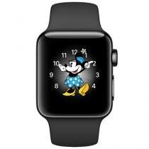 Apple Watch Series 2 38mm Aço 8GB Esportiva - Preta GPS Integrado Resistente a Água