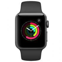 Apple Watch Series 2 38mm Alumínio 8GB Esportiva - Preta GPS Integrado Resistente a Água