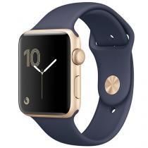Apple Watch Series 2 38mm Alumínio  - Azul Meia-Noite GPS Integrado Resistente à Água