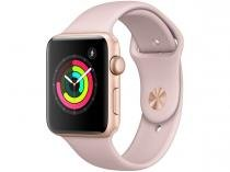 Apple Watch Series 3 42mm Alumínio 8GB Esportiva - Dourado GPS Integrado Bluetooth Resistente a Água